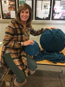 michele and yarn